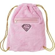 Gympapåse Mjuk Rosa 39x32cm Supergirl
