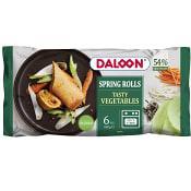 Vårrullar Grönsaker 6-st 600g Daloon