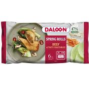 Vårrullar Kött 6-st 600g Daloon