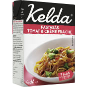 Pastasås Tomat & crème fraiche 400ml Kelda