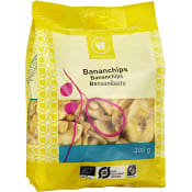 Bananchips Ekologisk 200g Urtekram