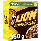 Lion Flingor Karamell & choklad 350g Nestle