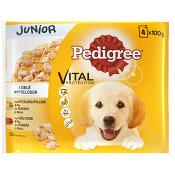 Hundmat Blandade smaker Junior 4-p 400g Pedigree