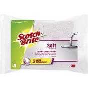 Rengöringssvamp Soft 2-p Scotch Brite