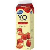 Yoghurt Jordgubb 0,1% 1000g Valio