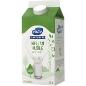Mellanmjölk Laktosfri 1,5% 1,5l Valio Eila