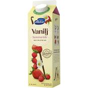 Vaniljyoghurt Sommarbär 2,1% 1000g Valio
