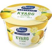 Kvarg Citron Laktosfri 200g Valio Eila