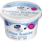 Crème Fraiche Laktosfri 18% 200g Valio