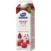 Fruktyoghurt Hallon Laktosfri 2,1% 1l Valio Eila
