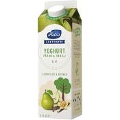 Yoghurt Päron & vanilj 2,1% Laktosfri 1000g Valio