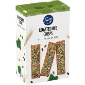 Kex Roasted rye crisps Pumpafrö 110g Fazer
