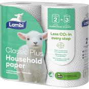 Hushållspapper Extra Long 2-p Lambi