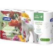Hushållspapper Dekor 4-p Lambi