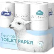 Toalettpapper Dekor 18-p Lambi