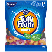 Tutti frutti Rings 180g Fazer