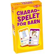 Resespel Charadspelet för barn Resespel
