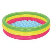 Pool 3-färgad 102x25cm 62L Bestway