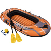 Båt med åror och pump Bestway
