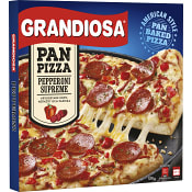 Färdigmat Pan pizza Pepperoni 570g Grandiosa