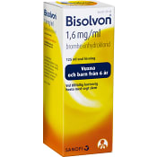 Bisolvon Oral lösning 1,6mg/ml 125ml