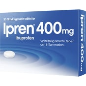 Ipren Filmdragerande tablett 400mg 30-p