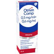 Otrivin Comp Nässpray 10ml
