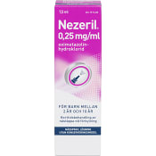 Nezeril Barn 2-10 år Nässpray 0,25mg 7,5ml