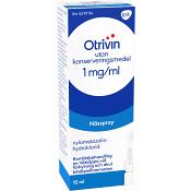 Otrivin Nässpray 1mg/ml 10ml