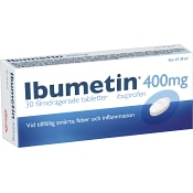 Ibumetin Tablett 400mg 30-p