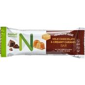 Milk chocolate & creamy caramel bar Viktkontroll 60g Nutrilett