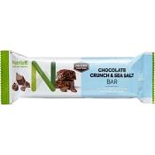 Chrunch bar Viktkontroll Chocolate crunch & seasalt 60g Nutrilett