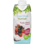 Nordic berries Smoothie Mindre socker Viktkontroll 330ml Nutrilett