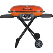 Gasolgrill med vagn Portabel Orange FCC BBQ