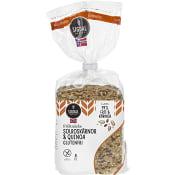 Fröknäcke Solroskärnor & Quinoa Glutenfri 190g Sigdal Bakeri
