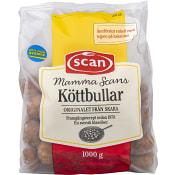 Köttbullar Mamma Scans 1kg Scan
