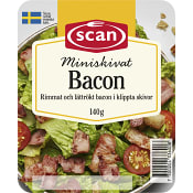 Bacon Miniskivat 140g Scan