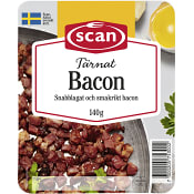 Bacon Tärnad 140g Scan
