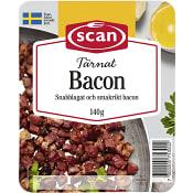 Bacon Tärnad 140g Scan