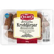 Kryddjärpar med örter & vitlök Stekta 300g Scan
