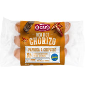 Choritzo Red hot 300g Scan