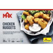 Kycklingnuggets Fryst 440g Max