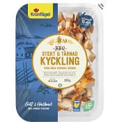 Stekt & Tärnad Kyckling BBQ smak 200g Kronfågel
