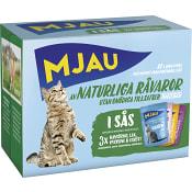 Multibox Kött&Fisk smaker 1,02kg Mjau