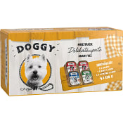Hundmat Delikatesspaté á la carte meny 150g 4-p Doggy feelgood