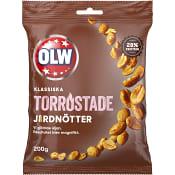 Torrostade Jordnötter 200g OLW