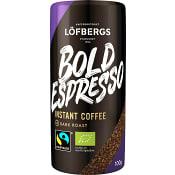 Snabbkaffe Bold Espresso Ekologisk 100g Fairtrade Löfbergs