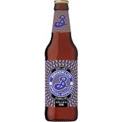 Öl Hoppy lager Alkoholfri 35,5cl Brooklyn