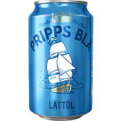 Lättöl 2,2% 33cl Pripps Blå
