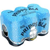 Lättöl 2,2% 33cl 6-p Pripps Blå